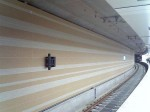 桜川駅南側壁面