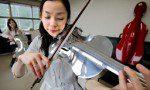 アルミ合金製バイオリン