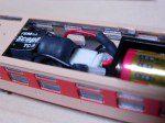 本体と電池ボックスの接続