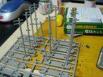 電柱の加工