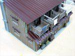 屋根を再塗装