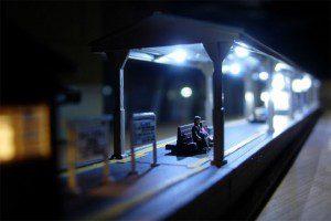 列車目線での確認