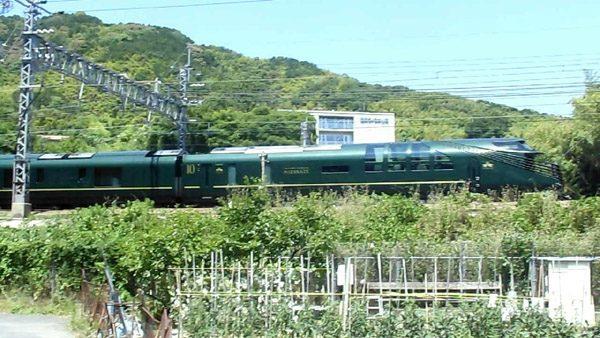 「トワイライトエクスプレス瑞風」一番列車