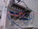 電圧計まわりの配線