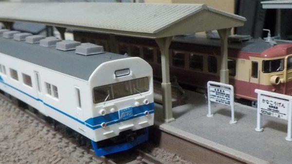 475系と419系
