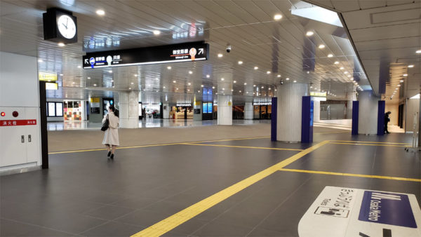 新大阪駅大阪メトロ改札前