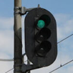 3灯式信号機